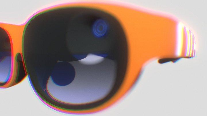 Nreal Light-Orange 3D Model