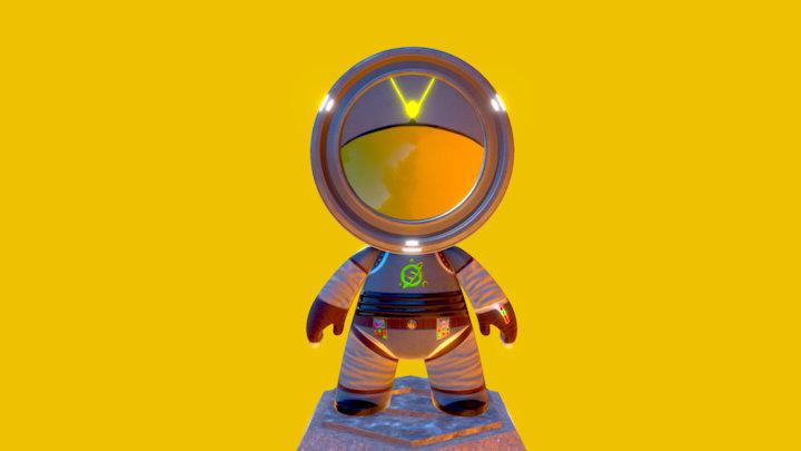 """Space Substance""- Mission PY39-146 3D Model"
