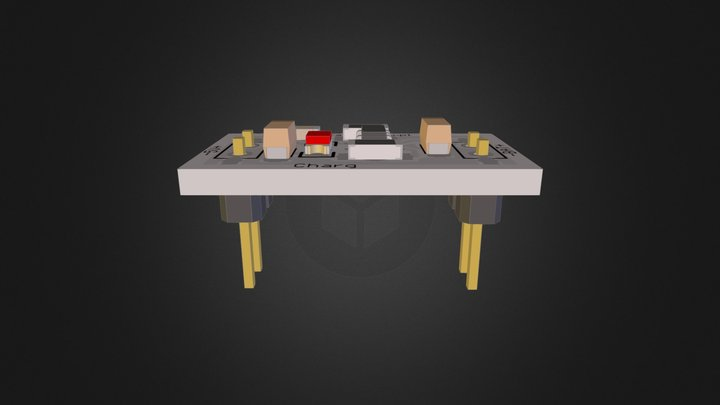 Li-Ion Battery Charger 3D Model