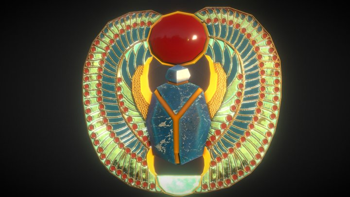 Ancient Egyptian Jewelry 3D Model