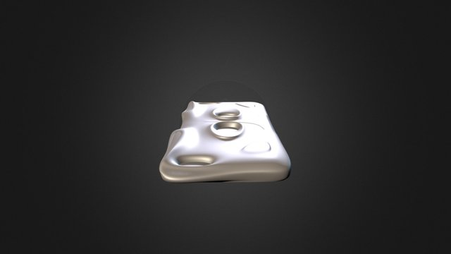 Iphone_6Plus_Case_Option04 3D Model