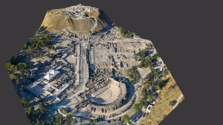 Nysa-Scythopolis 3D Model