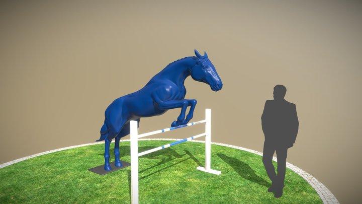 Cavalo Longines 3D Model