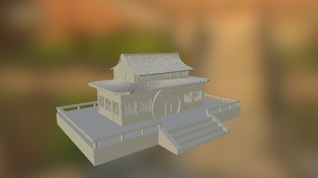 Samurai China -gla 3D Model