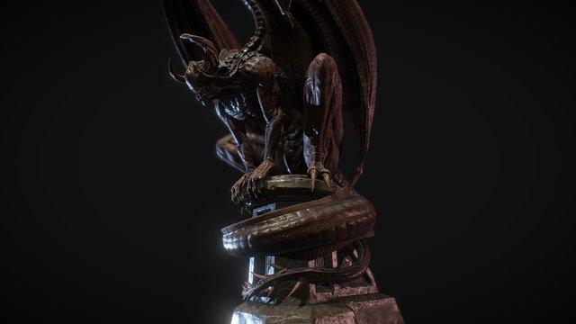 Nightgaunt Statue - Revival 3D Model