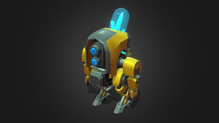 Crystalbot 01 3D Model