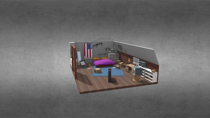 Chloe's Room: Life is Strange 3D Model