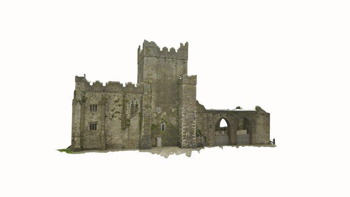 Tintern Abbey - ireland 3D Model