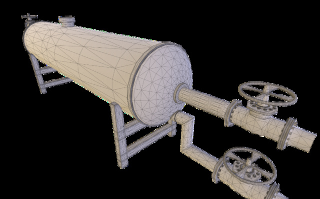Separator 3D Model