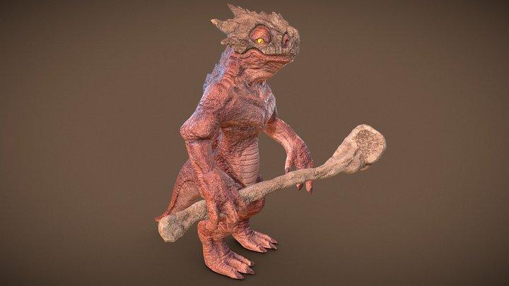 Marowak 3D Model