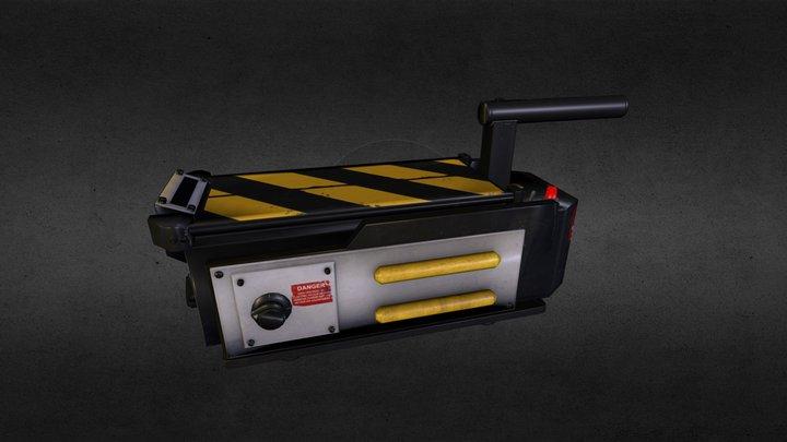 Ghostbusters - Ghost Trap 3D Model