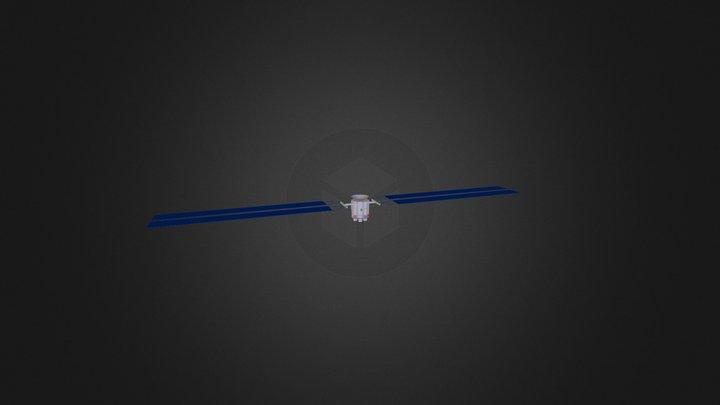 Spacecraft-Octagon-AMPS-Color 3D Model