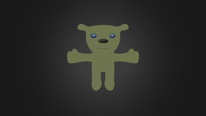 3D Modeling Bear Project 3D Model