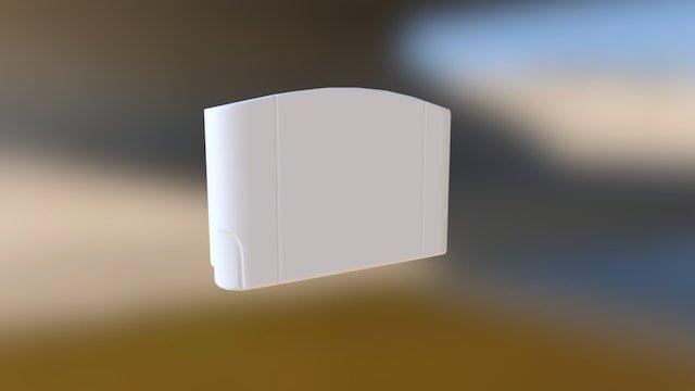 N64 Cartridge 3D Model