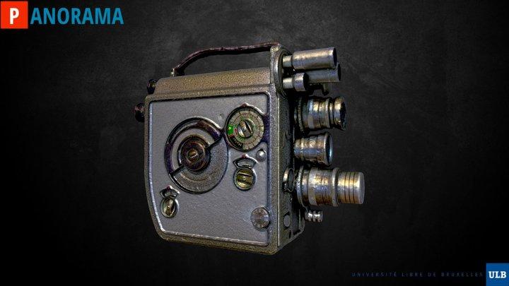 WIP Nizo Super8 movie camera 3D Model