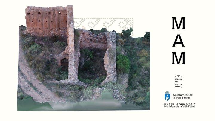 Torre de la Torrasa s.XII (La Vall d'Uixó) 3D Model