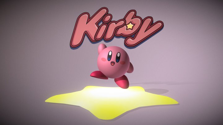 Kirby 3D Model