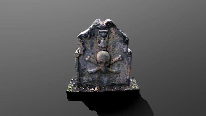Gravestone 1656 3D Model