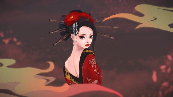 'Yoshiwara' - 3D Bust Challenge 3D Model