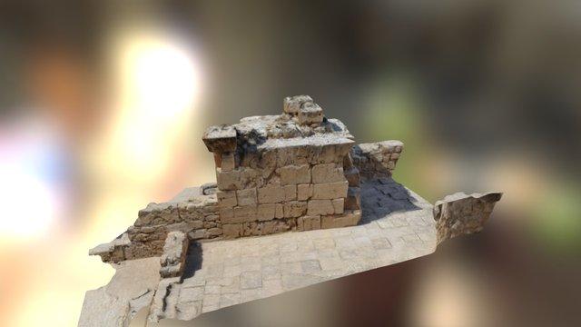 Saranda Kolones, Pilaster 1 3D Model