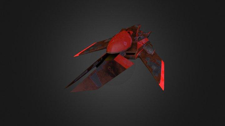 Mercenary Light Ship 3D Model