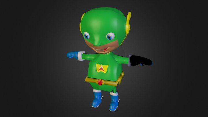 character.blend 3D Model
