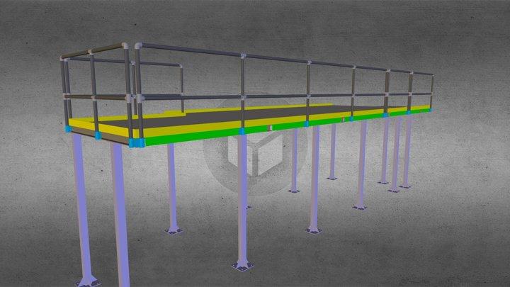 simulation.dae 3D Model