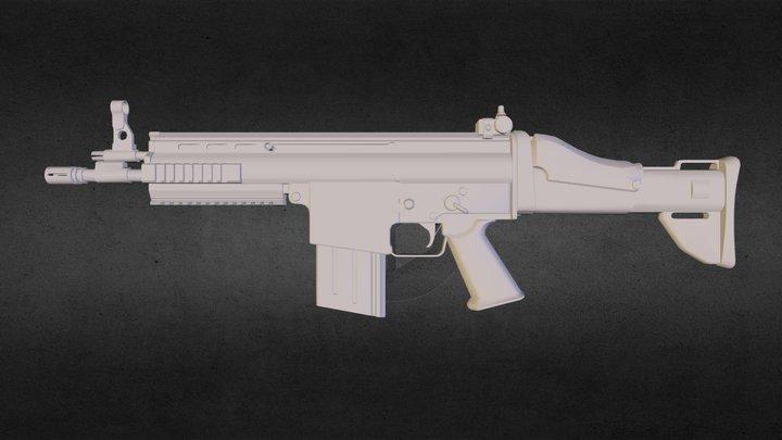 SCAR H alpha studioz 3D Model