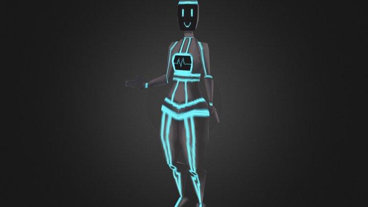 TGA - Hanne Fridqvist Nimvik - Friendbot 3D Model