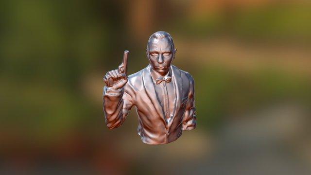 Daniel Craig - James Bond 3D Model
