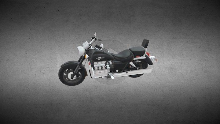 honda Valkyrie GL1500C 3D Model