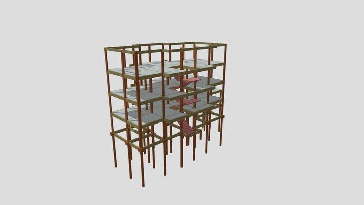 Bloco A 3D Model