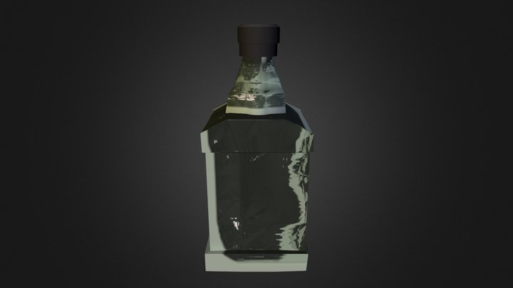 JD Bottle 3D Model