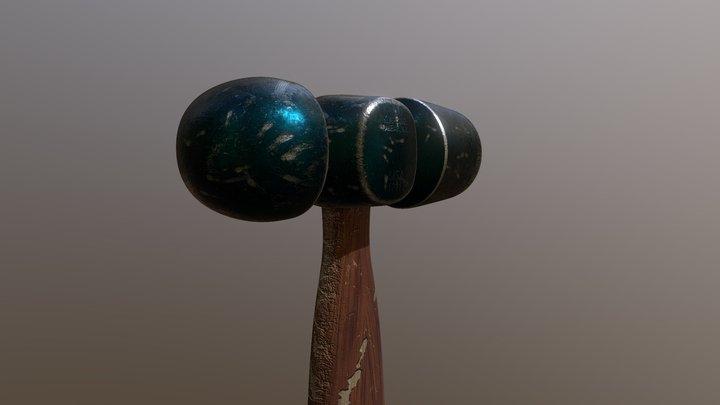 Worn Hammer 3D Model