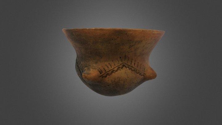 Reproducción: Vaso Globular Neolítico 3D Model