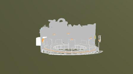 Pakour Stage Neu 3D Model