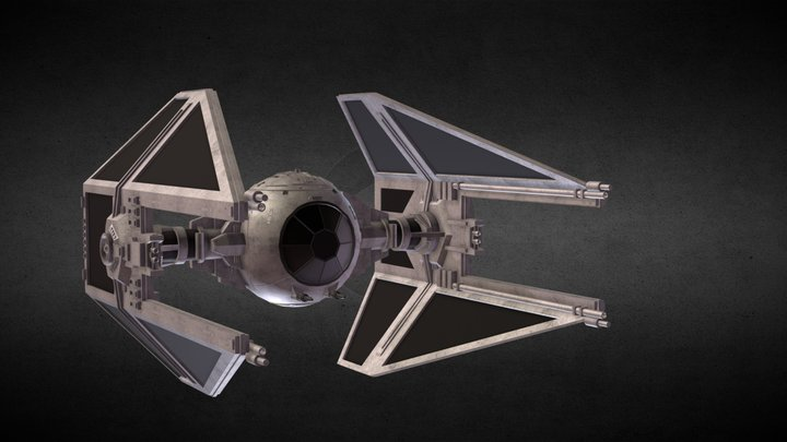 Star Wars: TIE Interceptor 3D Model