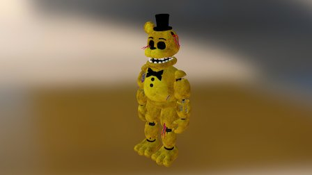 Fnaf-2-golden-freddy 3D Model