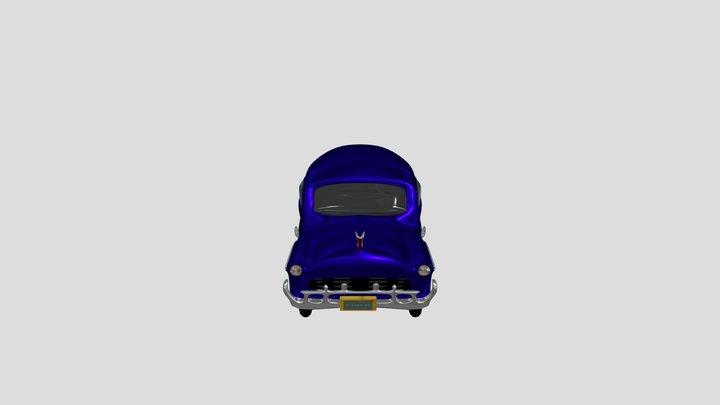 invented classic car 3D Model