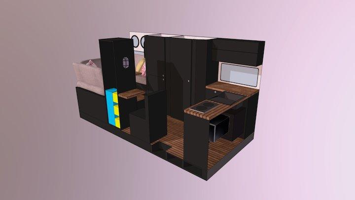 Van Conversion Model 3 3D Model