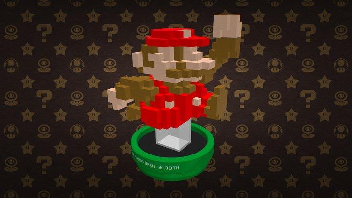 Super Mario 30th Edition - Classic Color [Voxel] 3D Model