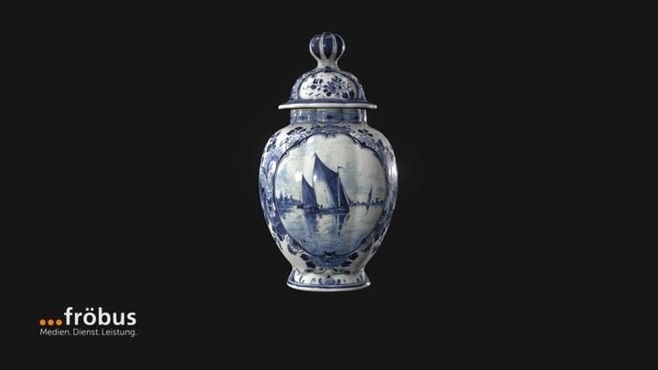 Delft Vase 3D Model