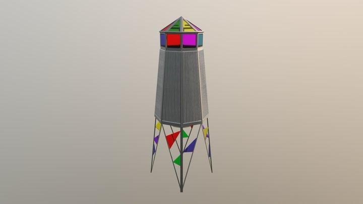 Anna's Wind Harp 3D Model