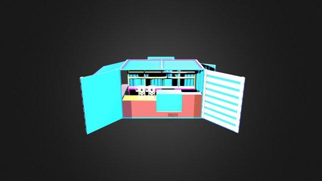 Dr Tea Co Kiosk 3D Model