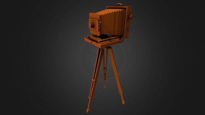 Tin_Type Camera 3D Model