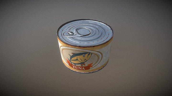 Can of tuna 3D Model