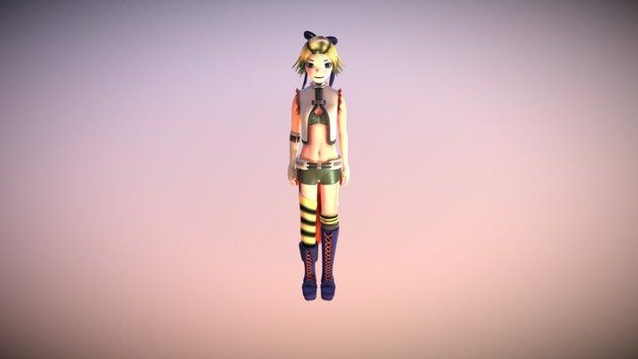 Megane Rin 3D Model