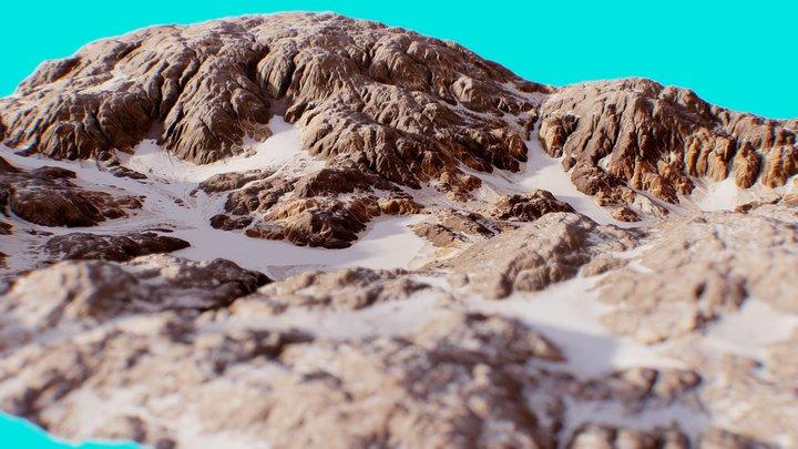 Mars Landscape 7 3D Model