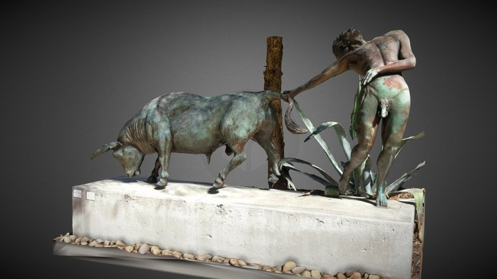 The Bull Thrower 3D Model