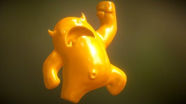 Melvin 3D Model